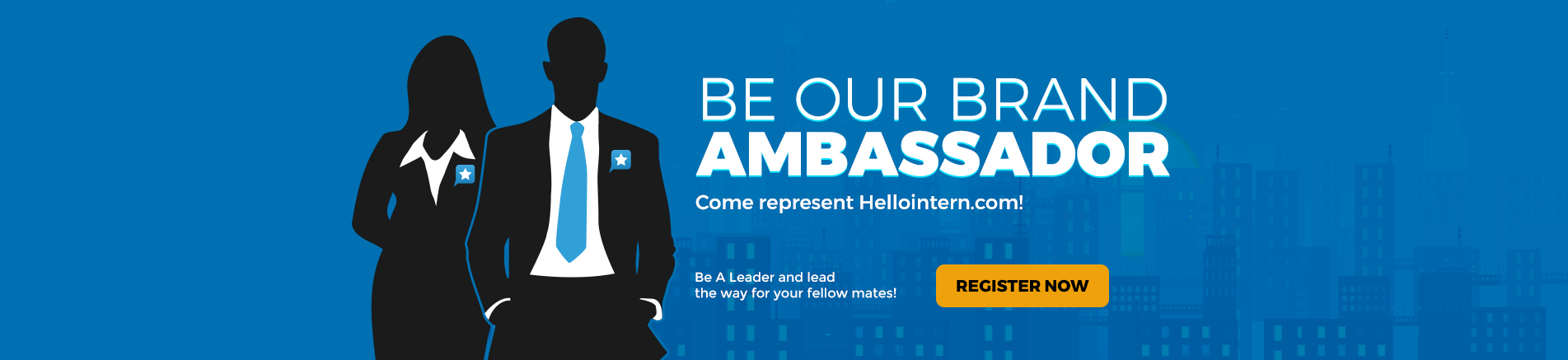 Be Our Brand Ambassador - Come Represent Hellointern.com
