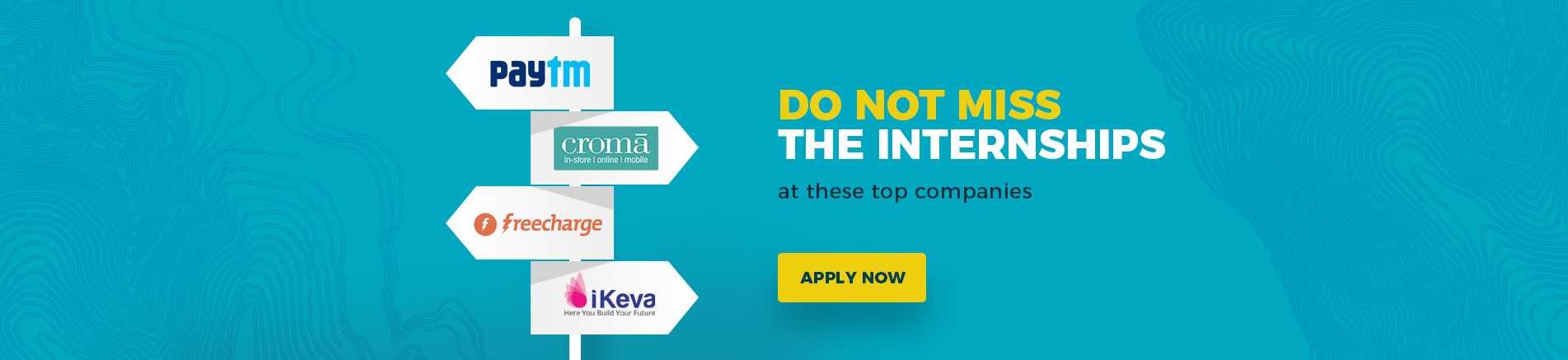 Do not miss internships at these top companies