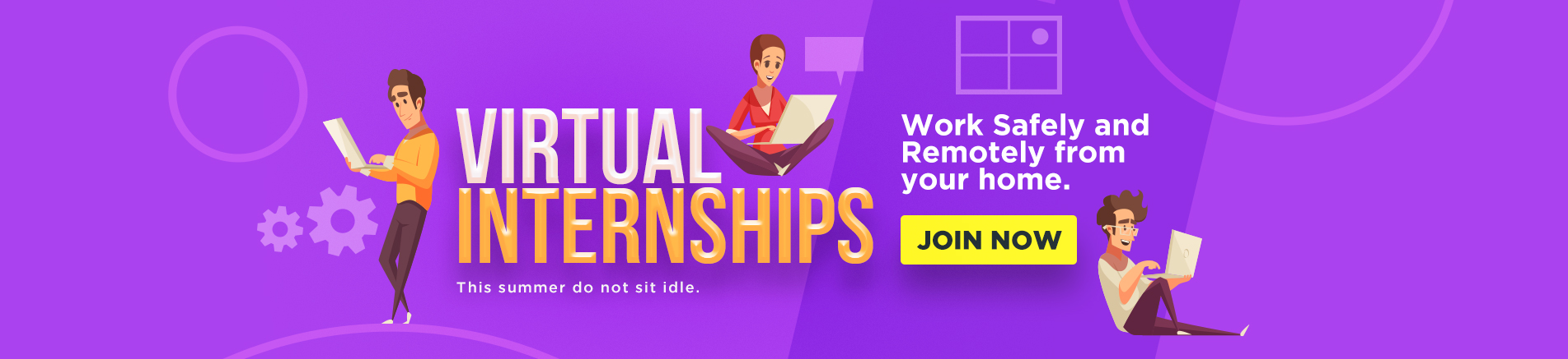 Virtual Internships - Work safely and remotely