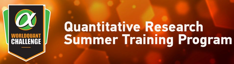 Quantitative Research Summer Training Program